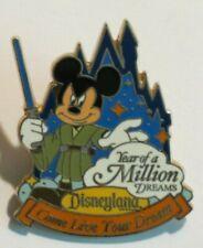 Disney Wdtc Travel Company Come Live Your Dreams Million Year Mickey Jedi Pin