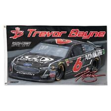 Trevor Bayne 2018 Wincraft #6 Advocare 3 x 5 Deluxe Flag FREE SHIP
