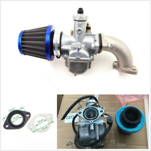 26mm Carburetor+38mm Air Filter Cleaner+Manifold Intake Pipe For 110 125cc 140cc