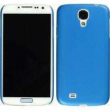 Hardcase Samsung Galaxy S4 Slimcase blue Cover + protective foils