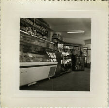 PHOTO ANCIENNE - VINTAGE SNAPSHOT - ÉPICERIE MAGASIN BOUTIQUE VITRINE - SHOP