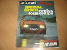 AJ N°20 1978 Citroën Visa Super.Opel Senator