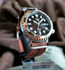 Seiko 5 Sports Automatic Brown Dial