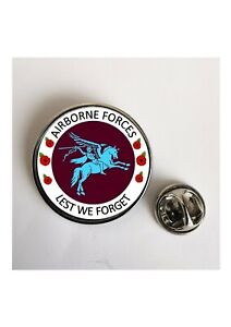 Airborne Forces lest we forget Military Army lapel- Keyring- Fridge Magnet
