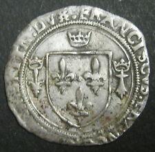 FRANCOIS Ier Grand blanc de Bretagne 2° Type (1522-1540) RARE