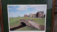 Signed Graeme Baxter St Andrews Golf Print