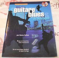 PARTITION Blues Guitare Acoustique Intermédiaire  (+CD)