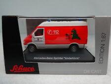 "Schuco : MERCEDES Sprinter ""Kinderklinik""  No 25384 scale 1:87"