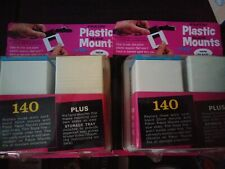 2 Package of 140 Pako Pakon Plastic Slide Film Mounts Unopened