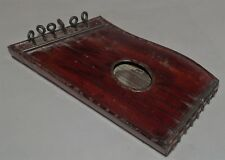 ANTIQUE METAL TIN TOY HARP MANDOLIN MUSICAL INSTRUMENT