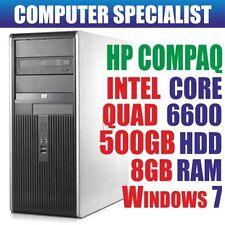 PCs de sobremesa y todo en uno Intel Core 2 8GB