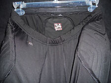 RAY ALLEN GAME USED MIAMI HEAT BLACK ADIDAS COMPRESSION SHORTS PADDED LOOK!