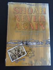 SHOAH NEVER AGAIN Jewish Holocaust Selected Poems NEW Hardcover Book SEALED