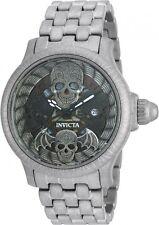 Invicta 48mm Artist Series Bone Collector Quartz  Stainless Steel Watch ,New