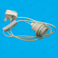 Edison Screw Plug In Light Kit ES E27 Inline Switch Lamp Holder Fitting Socket