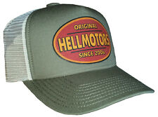 Hell motors retro Trucker Cap atlantis basecap Hot Rod rythm Biker v8 verde oliva