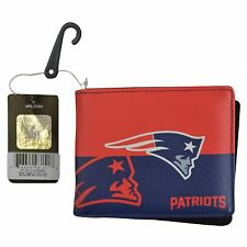 Brand New NFL New England Patriots Men Women Synthetic Leather Bi-Fold Wallet