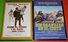 BUD SPENCER : DOS GRANUJAS EN EL OESTE + COMO EL PERRO Y EL GATO -DVD R2- Precin
