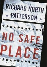 LARGE PRINT-No Safe Place by Richard North Patterson (1998, Hardcover)