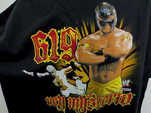 REY MYSTERIO 2XL SHIRT VINTAGE WWE WWF WCW NWO WRESTLING VTG RETRO 619 ADULT
