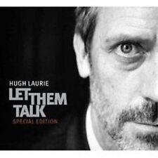 Let them talk Special Ed 4 bonus Hugh Laurie CD + DVD Set Sealed ! New ! 2011