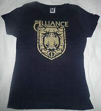 ALLIANCE XL LADIES Tshirt NEW womens top World of Warcraft WOW Extra Large