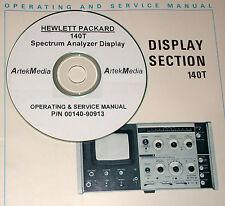 Hp 140T Service & Operating Manual