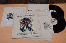 CELENTANO BOX 5 LP ANTOLOGIA 1°ST ORIG 1979 NM ! UNPLAYED ! CON LIBRO COLLEZION.