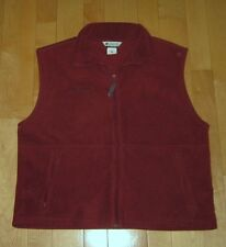 Columbia Mens Rusty Sierra Brown Color Fleece Jacket Vest XL