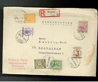 1946 Stralsund East Germany DDR Cover Local Issue Stamp
