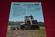 Caterpillar Challenger 65 Tractor Dealer's Brochure FMD AEHQ7020 8-88