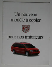 DODGE CARAVAN 2001 dealer brochure - French - Canada - ST1002000918