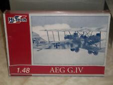 Hi-Tech 1/48 Scale AEG G.IV Bomber  - Factory Sealed
