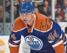 Edmonton Oilers Sheldon Souray Signed Autographed 8x10 Photo COA #2