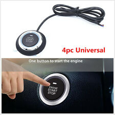 NEW 4 Pcs Car Security System Alarm Start Passive Keyless Entry Push Button