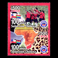 Chile 2010 - Chile National Football Team Soccer - Sc 1548 MNH