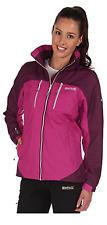 Regatta Purple Calderdale Waterproof Jacket Size 12 Box2705 E