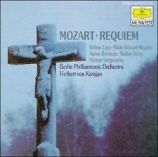 Mozart: Requiem (CD, Dec-1989, Deutsche Grammophon)