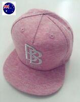 Baby Kids Girl 100% Cotton Fashion Pink Hiphop Hippie Golf baseball Hat Cap 0-2Y