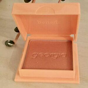 Benefit GEORGIA Golden Peach Blush - 4.0g Purse / Mini Size