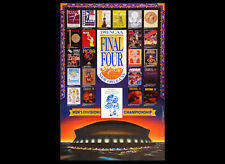 NCAA Men's Basketball FINAL FOUR 1993 Original Poster - North Carolina Champs