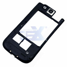 Black Back Middle Frame Midplate Midframe Bezel For Samsung Galaxy S3 i9300