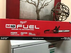 Milwaukee (2727-20) M18 Fuel 16'' Chainsaw (Tool Only)  Brand New Sealed