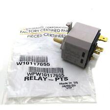 WPW10117655 Push-to-Start Switch W10117655 Genuine Whirlpool AP6015267