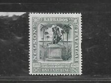 BARBADOS STAMP #102 (HINGED) FROM 1906
