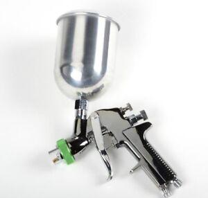 3 in 1 HVLP Air Spray Gun HVLP Auto Paint Sprayer Tool 1.7 2.0 2.5mm Nozzles Set