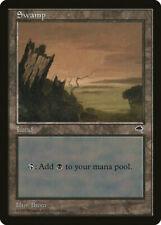 Magic MTG Tradingcard Tempest 1997 Swamp (339)