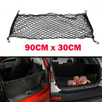 90*30CM Envelope Style Trunk Cargo Net For SUV Elastic String Hook