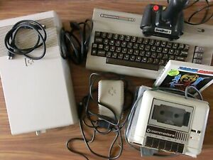 Commodore 64 + 1541 Pack02 - FirstHand - Close to New !