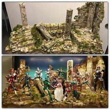 Diorama Decoration Scene Myth Cloth Saint Seiya Ex Rovine Per V1